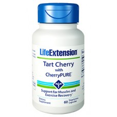 Life Extension Tart Cherry with CherryPURE®, 60 vege capsules (Expiry Aug 2018)