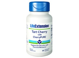 Life Extension Tart Cherry with CherryPURE®, 60 vege capsules (Expiry Aug 2019)
