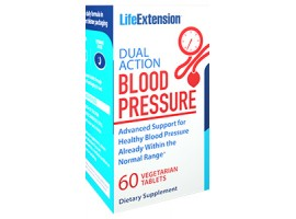 Life Extension Dual Action Blood Pressure, 60 vege tabs (Buy 1 get 1 free) (Expiry 08/2018)