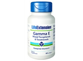 Life Extension Gamma E Mixed Tocopherols & Tocotrienol, 60 softgels