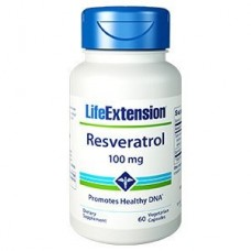 Life Extension Resveratrol 100 mg, 60 vege caps