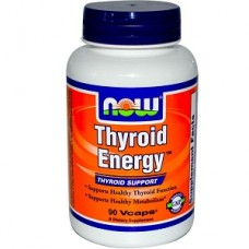 NOW Thyroid Energy, Thyroid Support, 90 Vege Caps