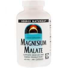 Source Naturals Magnesium Malate 625 mg, 200 Capsules