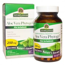 Nature's Answer Aloe Vera Phytogel, 250 mg, 90 veggie caps