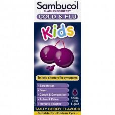 Sambucol Black Elderberry Cold & Flu Kids Liquid