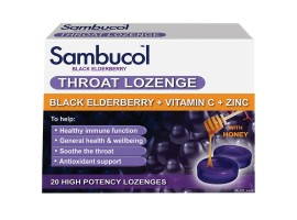 Sambucol Black Elderberry Throat Lozenges