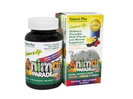 Nature's Plus Source Of Life Animal Parade Multi-Vitamin & Mineral (Natural Assorted Flavors)