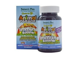 Nature's Plus Source of Life Animal Parade Kids Immune Booster (Natural Tropical Berry Flavor)