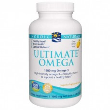 Nordic Naturals Ultimate Omega 1000 mg - Lemon, 120 softgels