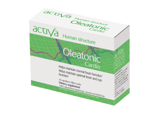 Activa Human Structure Oleatonic Cardio, 45 softgels