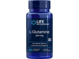 Life Extension L-Glutamine 500mg, 100 capsules