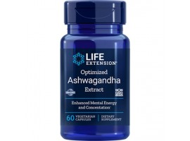Life Extension Optimized Ashwagandha Extract, 60 vege caps