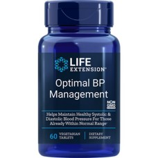 Life Extension Optimal BP Management, 60 tablets