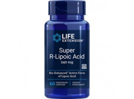Life Extension Super R-Lipoic Acid, 60 vege caps