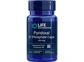 Life Extension Pyridoxal 5′-Phosphate Caps 100 mg, 60 vege caps