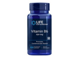 Life Extension Vitamin B6 250mg, 100 vege capsules