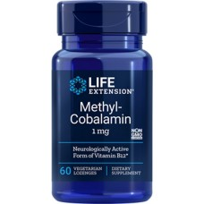 Life Extension Methylcobalamin Lozenges 1mg, 60 lozenges