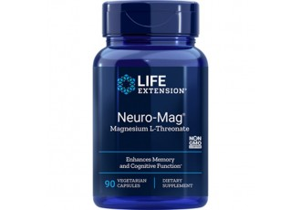Life Extension Neuro-Mag™ Magnesium L-Threonate, 90 vege caps