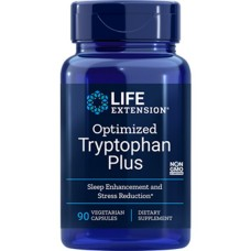 Life Extension Optimized Tryptophan Plus, 90 vege caps