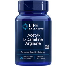 Life Extension Acetyl-L-Carnitine Arginate, 90 vegetarian capsules