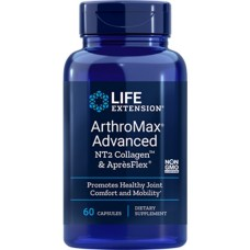 [Free Pernaton Sachets] Life Extension ArthroMax® Advanced with NT2 Collagen™ & AprèsFlex®, 60 capsules