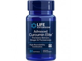 Life Extension Advanced Curcumin Elite™ Turmeric Extract, Ginger & Turmerones, 30 softgels