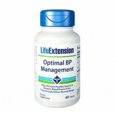Life Extension Optimal BP Management, 60 tablets (Expiry Nov 2020)