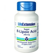 Life Extension Super R-Lipoic Acid, 60 vege caps (Expiry Aug 2021)