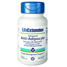 Life Extension Advanced Anti-Adipocyte Formula with AdipoStat & Integra-Lean®, 60 vege caps (EXPIRY JAN 2021)