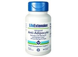 Life Extension Advanced Anti-Adipocyte Formula with AdipoStat & Integra-Lean®, 60 vege caps