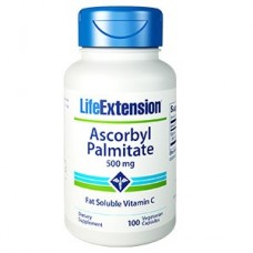 Life Extension Ascorbyl Palmitate 500mg, 100 vege caps (Expiry Dec 2020)