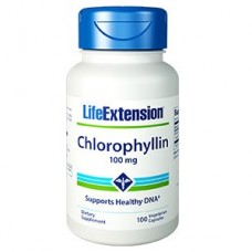 Life Extension Chlorophyllin 100mg, 100 vege caps (Expiry Apr 2021)
