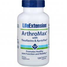 Life Extension ArthroMax™ with Theaflavins & AprèsFlex™, 120 vege caps (Expiry Aug 2021)