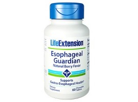 Life Extension Esophageal Guardian, 60 chewable tablets (Expiry Apr 2021)