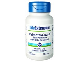 Life Extension PalmettoGuard™ Saw Palmetto with Beta-Sitosterol, 30 softgels