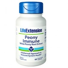 Life Extension Peony Immune 600 mg, 60 vege caps (Expiry May 2021)