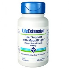 Life Extension Tear Support with MaquiBright® Maqui Berry Extract 60 mg, 30 vegetarian capsules (Expiry Jun 2021)