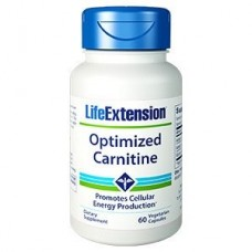 Life Extension Optimized Carnitine, 60 vege caps (Expiry Jan 2021)