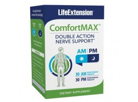 Life Extension ComfortMAX™ 30 AM vege tabs, 30 PM vege tabs (Expiry May 2021)