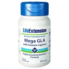 Life Extension Mega GLA with Sesame Lignans, 30 softgels (Expiry May 2021)