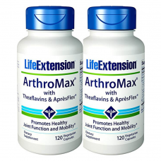 [BUNDLE] Life Extension ArthroMax™ with Theaflavins & AprèsFlex™, 120 vege caps