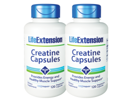 [BUNDLE] Life Extension Creatine Capsules, 120 vege capsules
