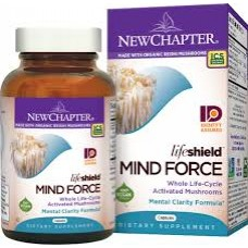 New Chapter LifeShield™ Mind Force, 60 vege caps (Expiry Jun 2018)