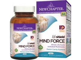 New Chapter LifeShield ™ Mind Force, 60 vege caps