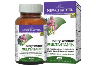 New Chapter Every Woman®, 72 tablets (Expiry May 2018)
