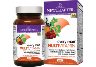 New Chapter Every Man®, 72 Tablets (Expiry May 2017)