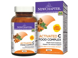 New Chapter Activated C Food Complex, 60 tablets (Expiry Jun 2019)
