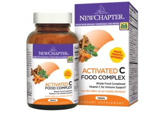 New Chapter Activated C Food Complex, 60 tablets (Expiry Jul 2017)