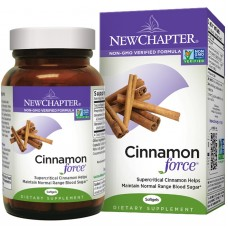New Chapter Cinnamon Force®, 30 liquid vege caps (Expiry May 2018)