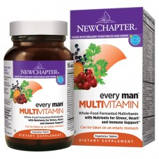 New Chapter Every Man®, 72 Tablets  (Expiry May 2021)